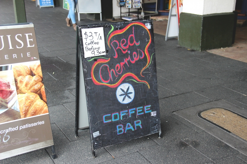 Red Cherries Sign